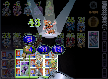 Numbers League game screenshot